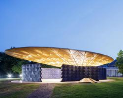 Serpentine Pavilion 2017 designed by Francis Kéré. Kéré Architecture, Image © 2017 Iwan Baan