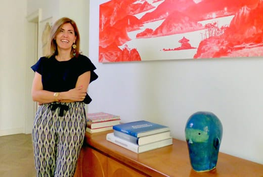 Art Collector Tiziana Castelluzzo