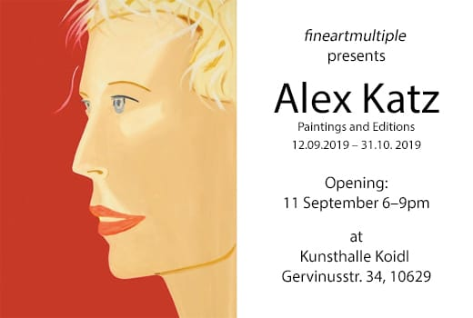 Alex Katz, Kunsthalle Koidl