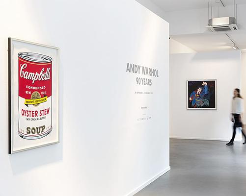 Andy Warhol at Kunsthalle Koidl