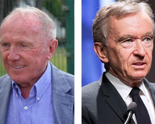 Francois Pinault and Bernard Arnault