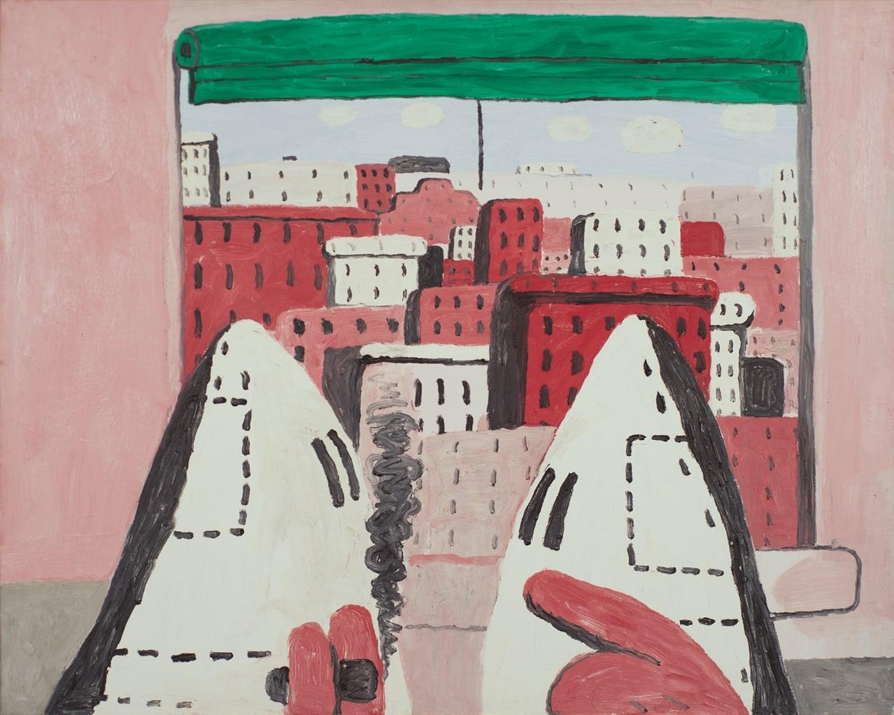 Philip Guston - Open Window II