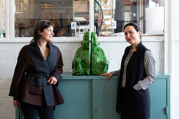 Art Collector Shirin Marquart & Stefania Palumbo, Archivio Conz