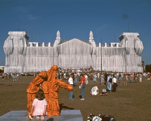 Christo, The Wrapped Reichstag