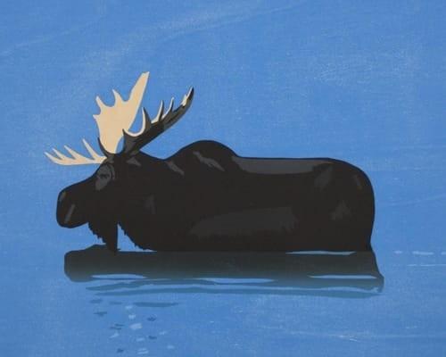 Moose von Alex Katz