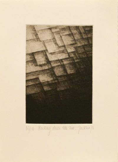 """Rocking Down the Line (from """"Eighteen Small Prints"""") von Bill Jacklin"""