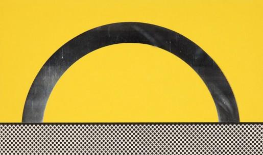 """Roy Lichtenstein, Landscape 7 from """"Ten Landscapes"""" (C 51-60), 1967"""