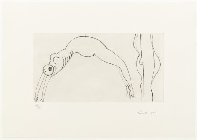 Arched Figure von Louise Bourgeois