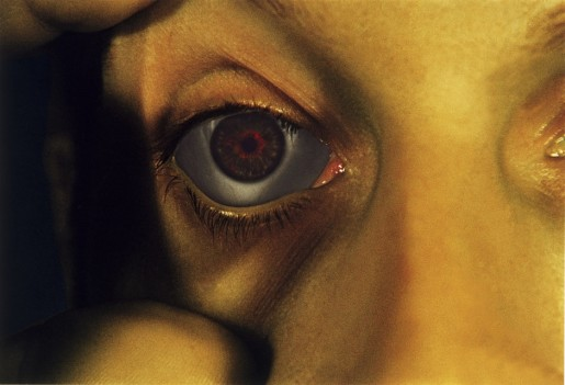Bruce Nauman, Opened Eye from Infrared Outtakes, 2006