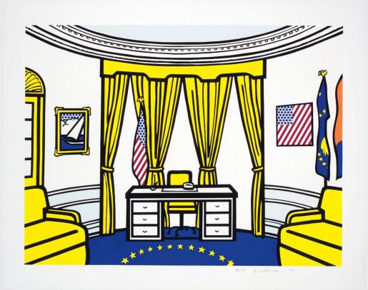 Roy Lichtenstein, The Oval Office, 1992
