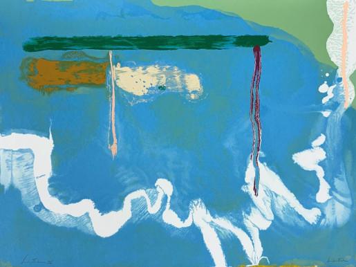 Helen Frankenthaler, Skywriting, 1997