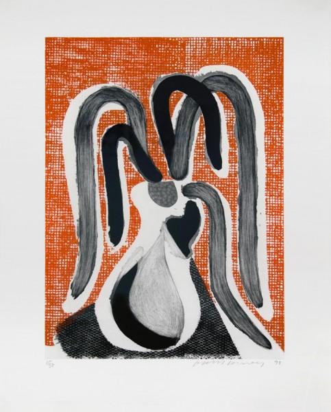 David Hockney, Homemade Etching, 1998