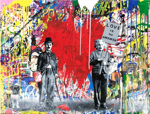 Mr. Brainwash, Juxtapose, 2018