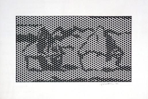 Roy Lichtenstein, Haystack No. 7, 1969