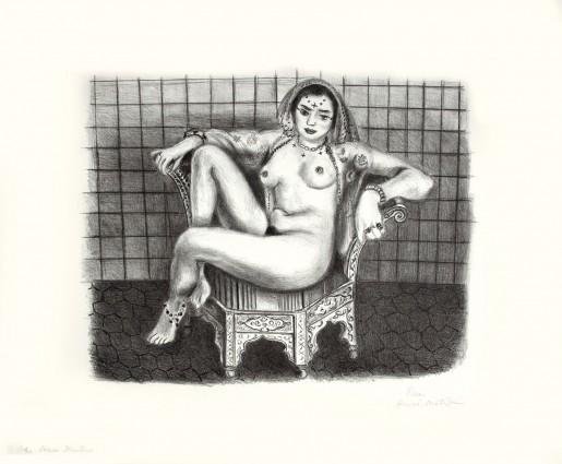 Henri Matisse, Jeune Hindoue, 1929