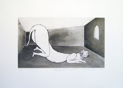 Louise Bourgeois, Champfleurette, the White cat, 1993