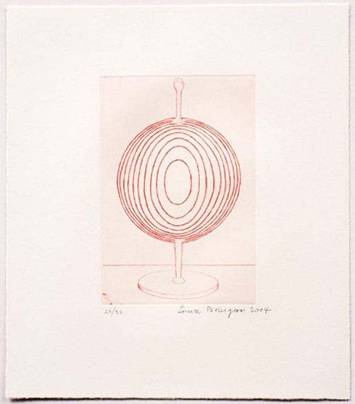 Louise Bourgeois, Glass Object, 2004