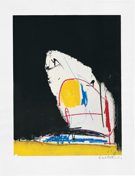 Robert Motherwell, Capriccio, 1961