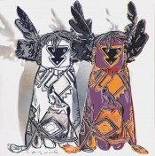 "Kachina Dolls (FS II.381), from the Portfolio ""Cowboys and Indians"""