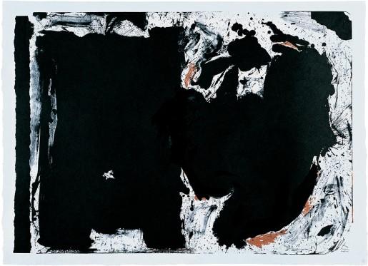 Robert Motherwell, Lament for Lorca, 1982
