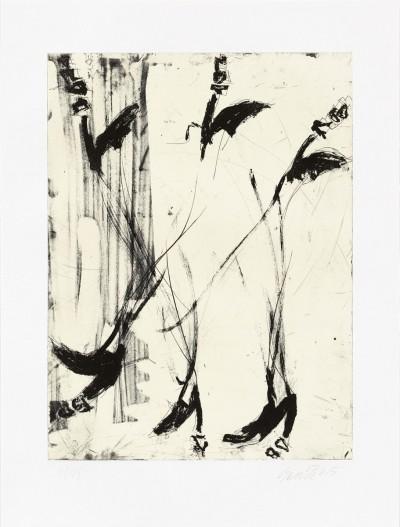 Georg Baselitz - Sono sei piedi