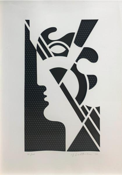 Roy Lichtenstein, Modern Head #5 from Modern Head series, 1970