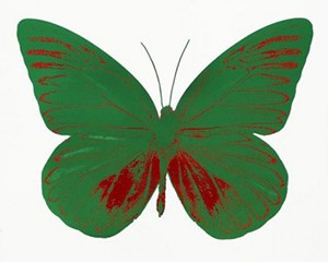 The Souls I - Emerald Green/Chilli Red von Damien Hirst