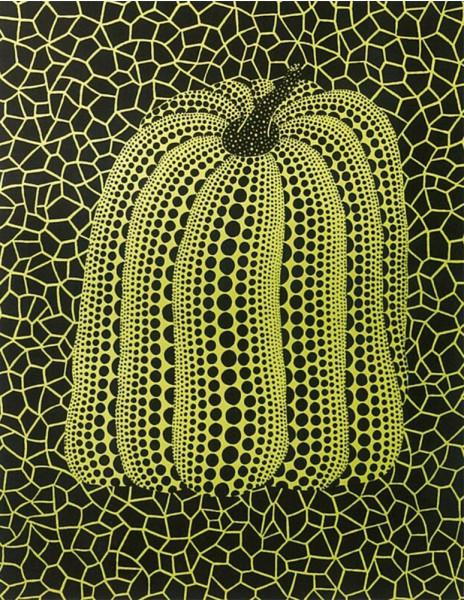 Yayoi Kusama, Pumpkin B, 2000