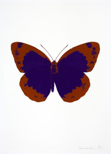 Damien Hirst, The Souls II - Imperial Purple/Prairie Copper/Blind Impression, 2010