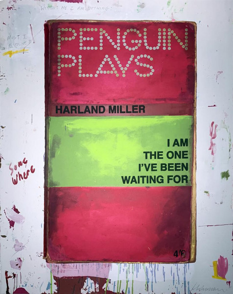 Harland Miller, I Am the One I've Been Waiting For, 2012