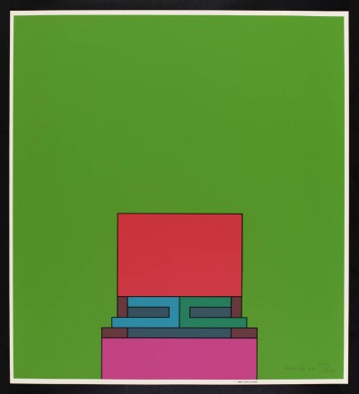 Robyn Denny, The Heavenly Suite (green), 1971