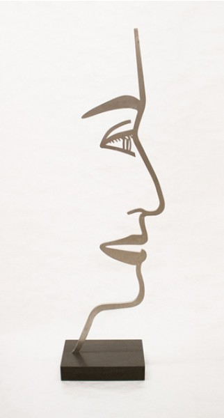 Alex Katz, Ada 1 (Outline), 2018