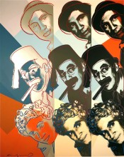 Marx Brothers, from 10 Portraits Of Jews Of The 20th Century