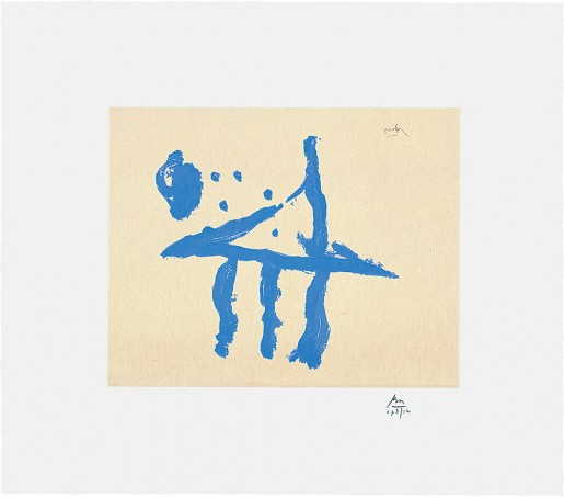 Robert Motherwell, Summer Trident, 1990