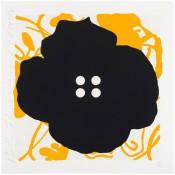 Button Flower Yellow