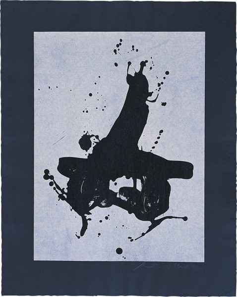 Robert Motherwell, Black on Black, 1978