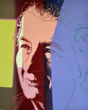 "Golda Meir (FS II.233), from the Portfolio ""Ten Portraits of Jews of the Twentieth Century"""