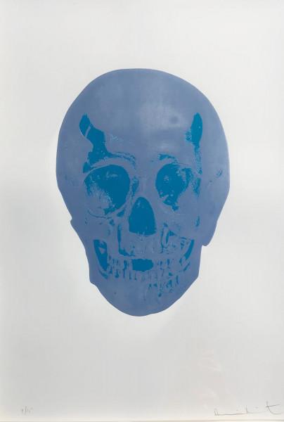 Damien Hirst, The Dead (Silver Gloss/Topaz Skull), 2009