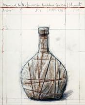 Wrapped Bottle (Project for Kirchberg Spätlese)