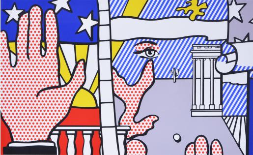 Roy Lichtenstein, Inaugural Print, 1977