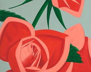 Rose Bud von Alex Katz