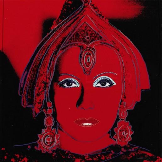 "Andy Warhol, The Star (FS II.258), from the Portfolio ""Myths"", 1981"