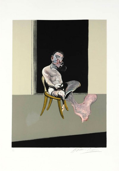 Triptych August 1972 (Right Panel) von Francis Bacon