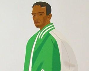 Green Jacket von Alex Katz