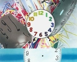 James Rosenquist, The Memory Continues but the Clock Disappears, 2011