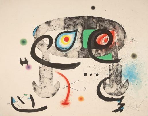Joan Miró, Le hibou blasphémateur, 1975