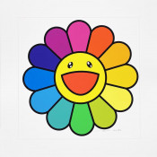 Smile on, Rainbow Flower