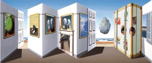 Patrick Hughes, Moving, 2013