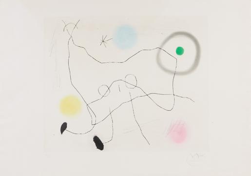 Joan Miró, Crapaud Lyre, 1965
