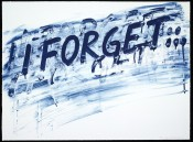 I Forget